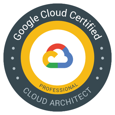 Google Cloud – Professional Cloud Architect Certification